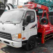 Xe cứu hộ gắn cẩu Hyundai HD65