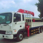 Xe tải Hyundai gắn cẩu Unic tải trọng 3,5T