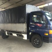 Xe tải Hyundai thùng mui bạt 6,5 tấn HD99