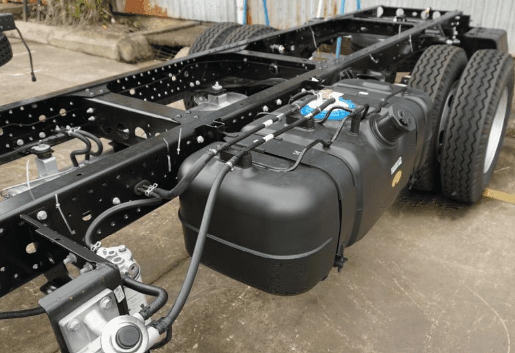 Sát xi và khung gầm xe tải JAC N200
